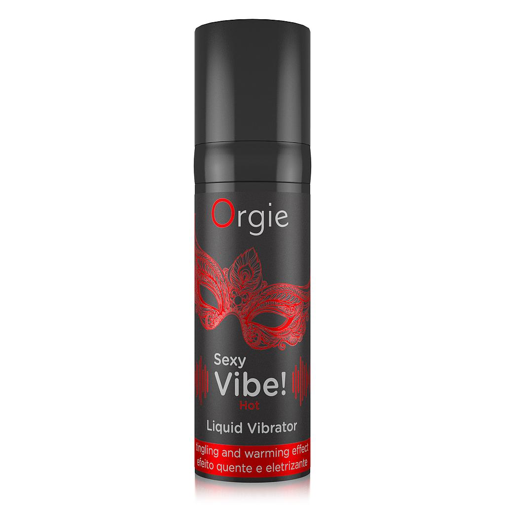 Sexy Vibe! Hot - Liquid Vibrator (15 ml)