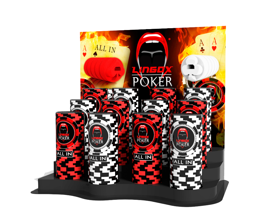 LINGOX POKER Expositor